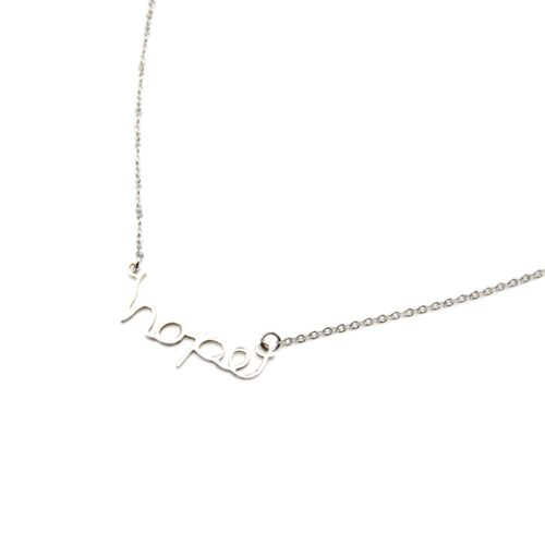 Collier-Fine-Chaine-Pendentif-Message-Hope-Acier-Argente
