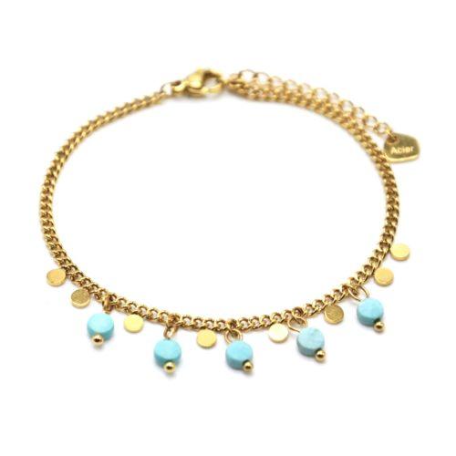 Bracelet-Chaine-Maillons-Fins-avec-Pampilles-Acier-Dore-et-Pierres-Resine-Bleu-Ciel