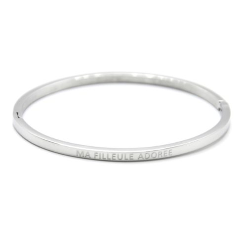 Bracelet-Jonc-Fin-Acier-Argente-avec-Message-Ma-Filleule-Adoree