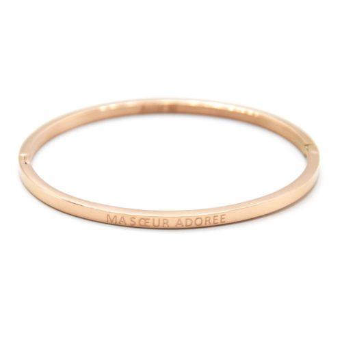Bracelet-Jonc-Fin-Acier-Or-Rose-avec-Message-Ma-Soeur-Adoree