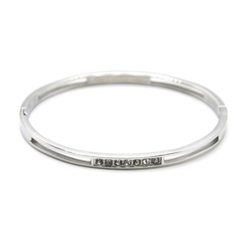 Bracelet-Jonc-Fin-Ajoure-Acier-Argente-avec-Multi-Strass
