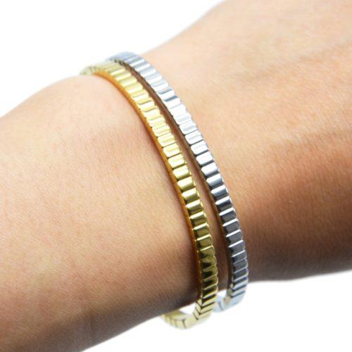Bracelet-Jonc-Fin-Motif-Pave-Acier