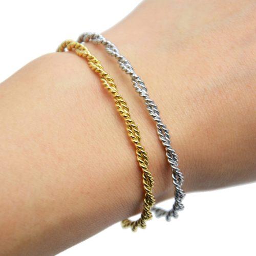 Bracelet-Jonc-Double-Torsades-Acier