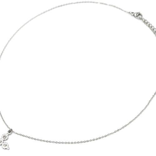 Collier-Fine-Chaine-Pendentif-Croix-Multi-Cercles-Acier-Argente-et-Strass