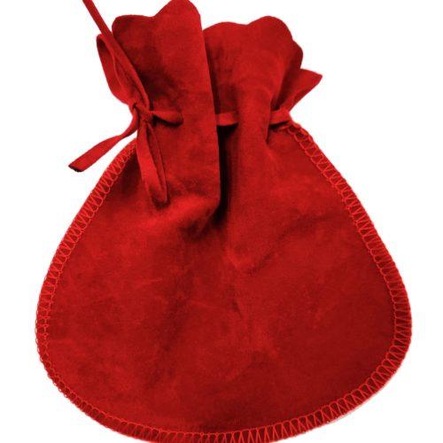 Emballage-Cadeau-Grand-Pochon-Velours-Rouge-Bijoux