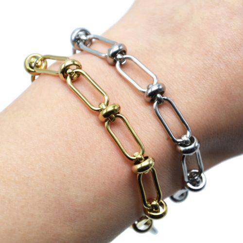 Bracelet-Chaine-Gros-Maillons-avec-Anneaux-Acier