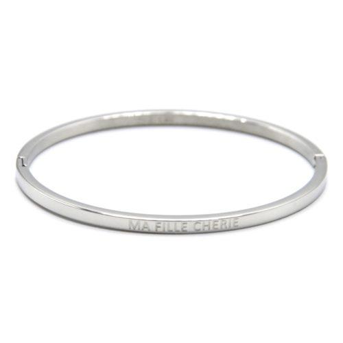 Bracelet-Jonc-Fin-Acier-Argente-avec-Message-Ma-Fille-Cherie