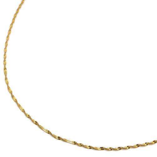 Collier-Fine-Chaine-Torsadee-Acier-Dore