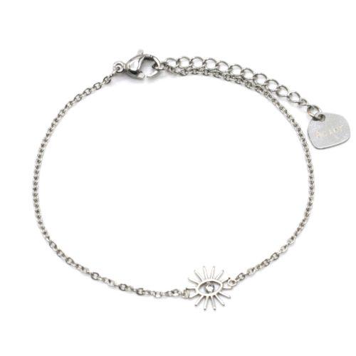 Bracelet-Fine-Chaine-avec-Charm-Oeil-Cils-Acier-Argente